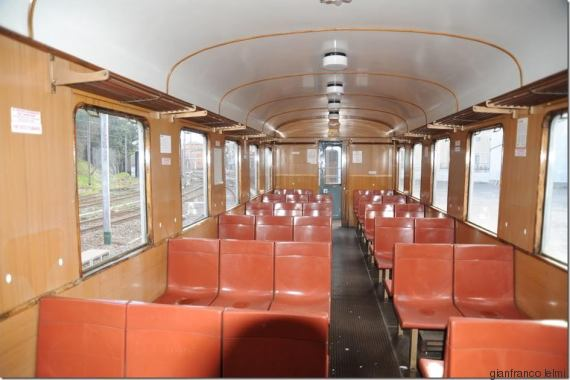 Inside Carriage #59 Mussolini