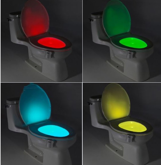 Accessory to color the toilet