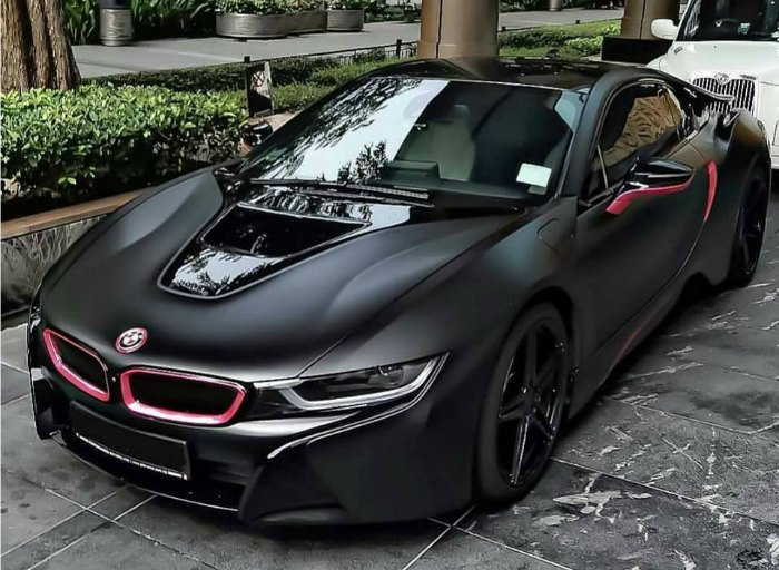 Black BMW Sport Car. Is It Enough Aggressive For You?