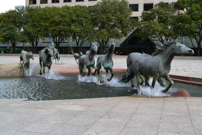 The Mustang of Las Colinas, Texas