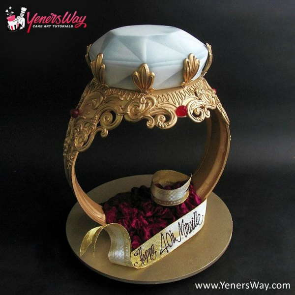 Big Regal Ring Cake