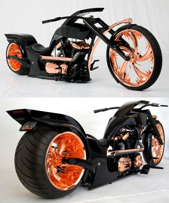 flames looking motorbike