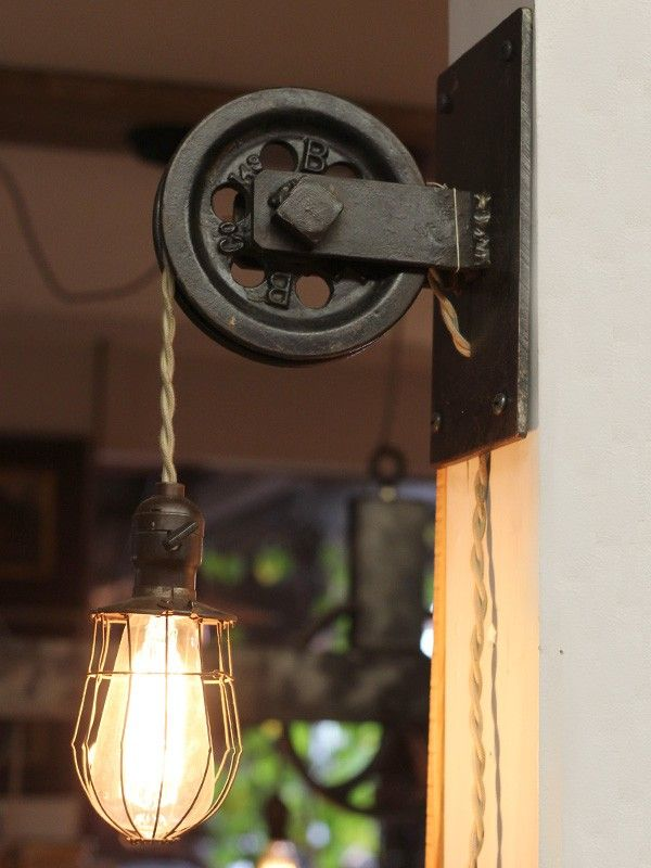 pulley lantern light