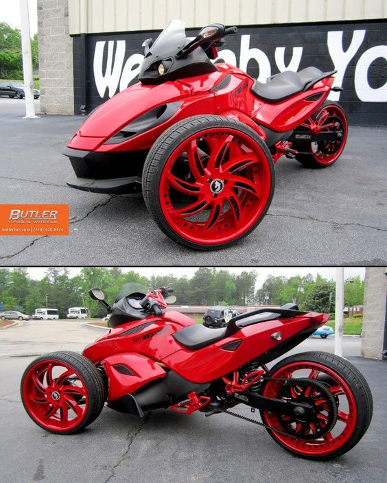 red butler motorcycle