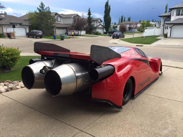 Ryan Mcqueen Rocket Car