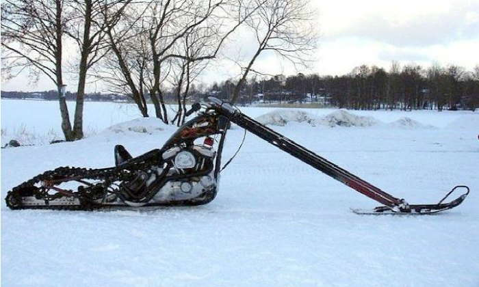 Sporster Chopper Snow Machine