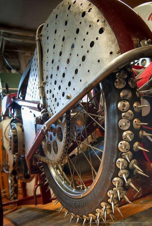 Studded Snow Bike Tires