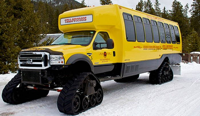Yellowstone National Park Snow Coach
