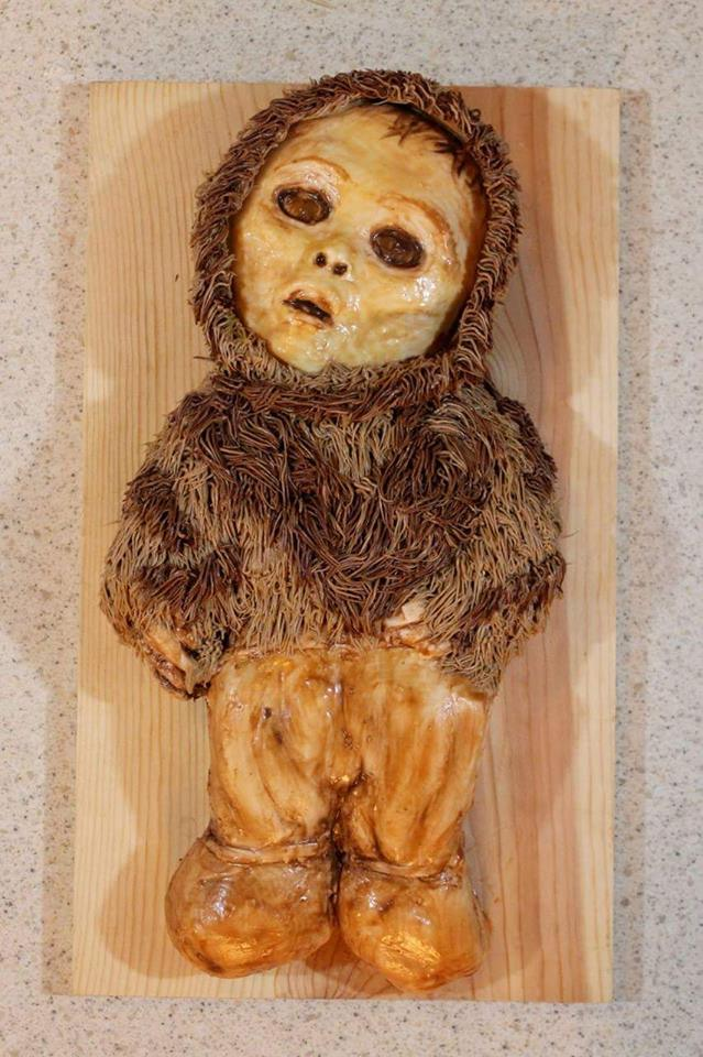 boy mummy cake