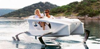 Quadrofoil Electric Hydrofoiling Watercraft