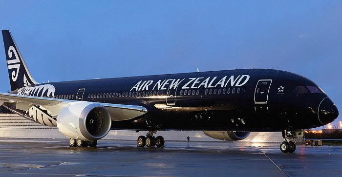air new zealand round the world