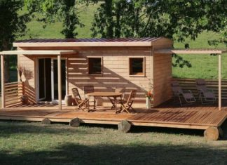 brikawood wooden house