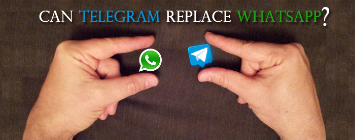 can telegram replace whatsapp