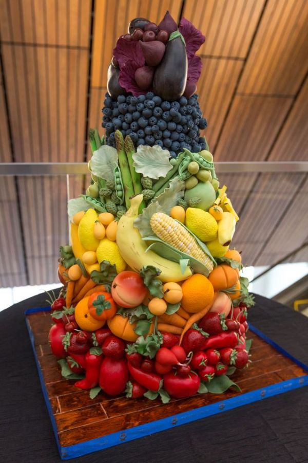 pile of fruit and vegs