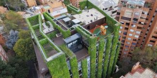 bogota the largest vertical urban garden in the world
