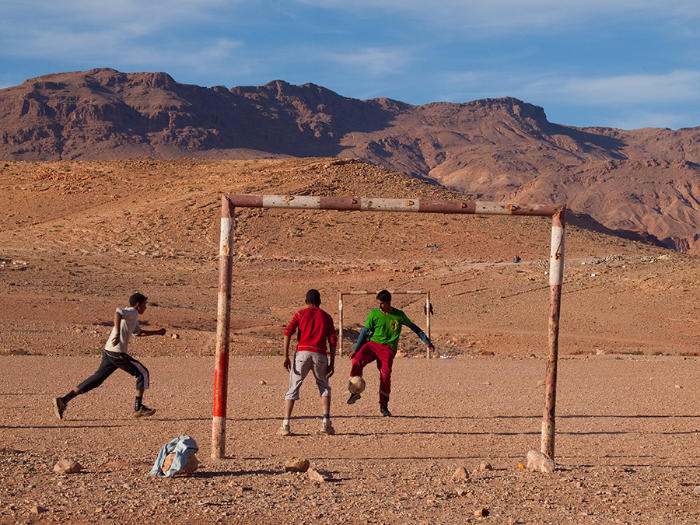 Desert Pitch in Tinerhir Marocco