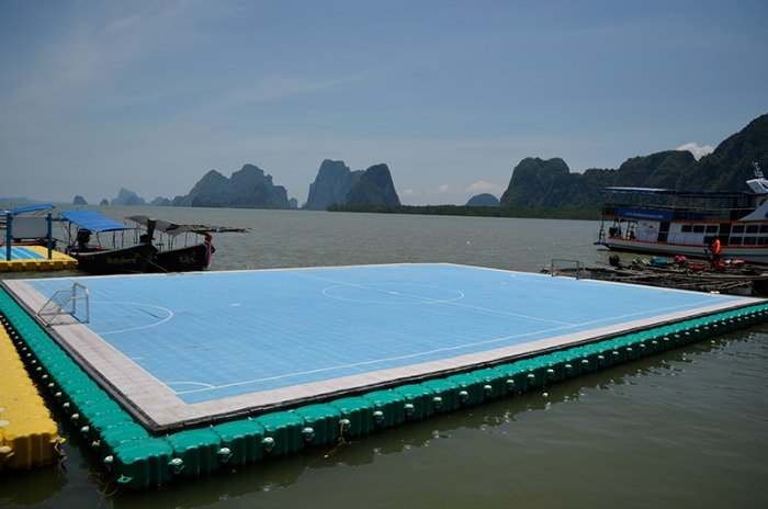 floating pitch thailand