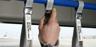 hanging straps iwc watch ads