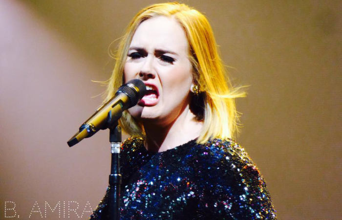 adele uk singer singing