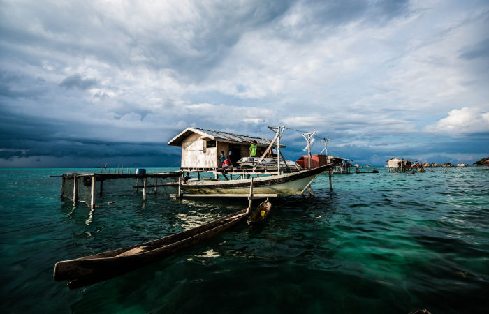 bajau laut living on water