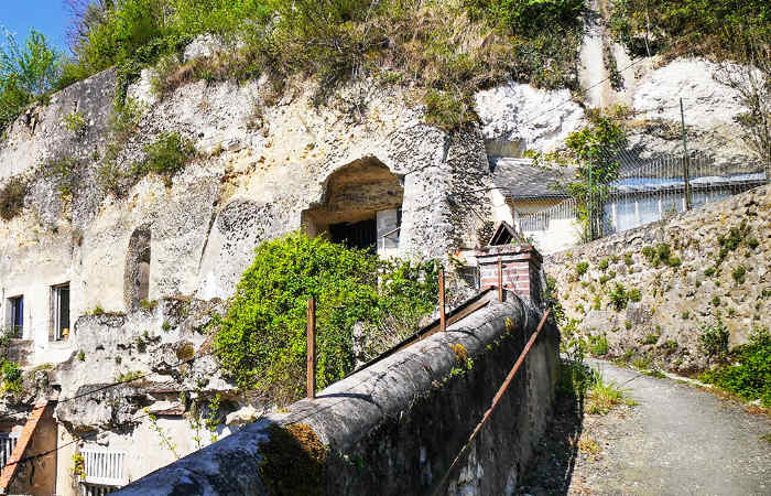 cave house entryway