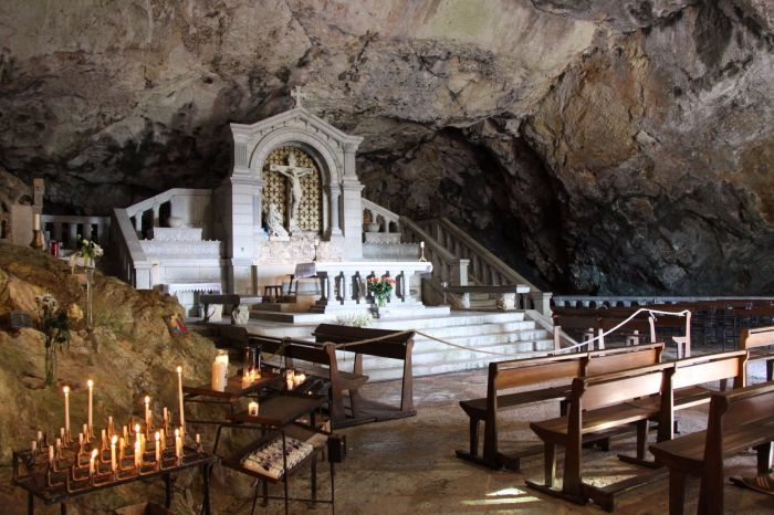 church sant baume cave mary magdalene