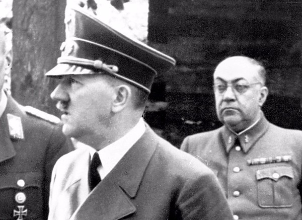 hitler and theo morrel