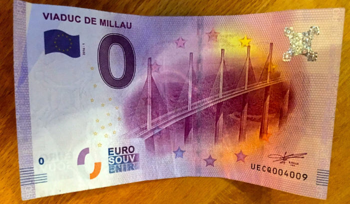 zero euro banknote in germany