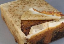 106-year-old fruitcake found antarctica open