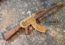 ak47 guitar from an ibinez