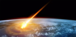 asteroid impact falklands islands