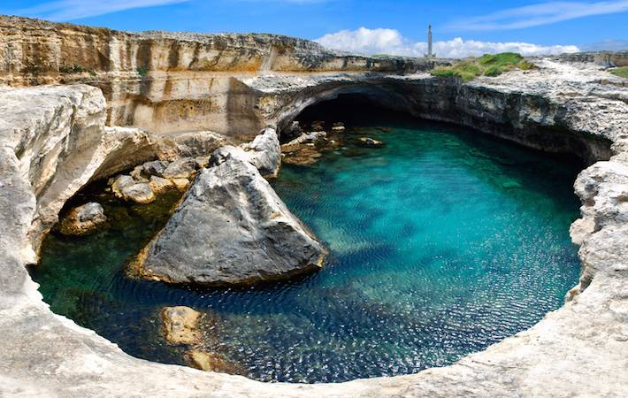cave of poetry puglia italy
