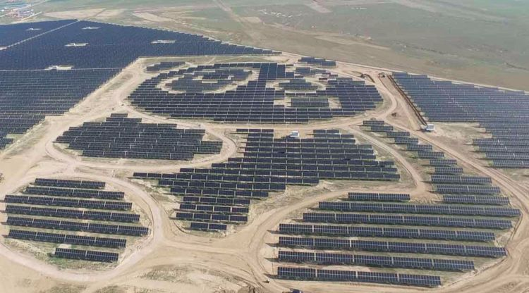china giant panda solar power