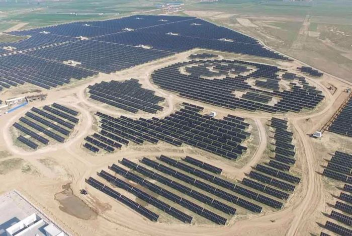 giant panda solar power china