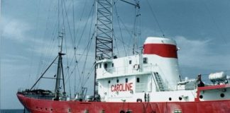 iconic caroline pirate radio