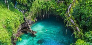 the to sua ocean trench samoa