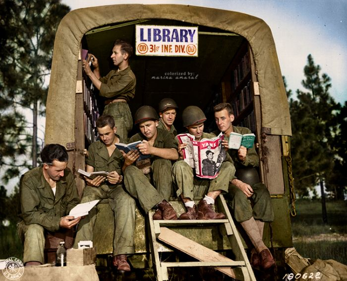 31st divisions mobile library
