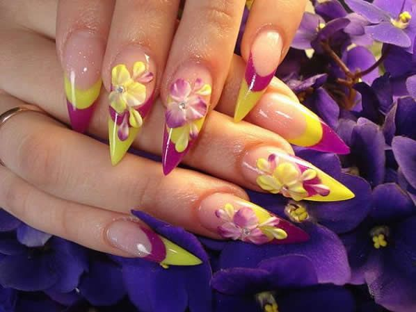 3d nail art design - 11 Stunning 3D Nail Art Designs For 'normal' And Eccentric People