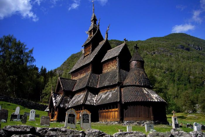 borgund stave church norwey