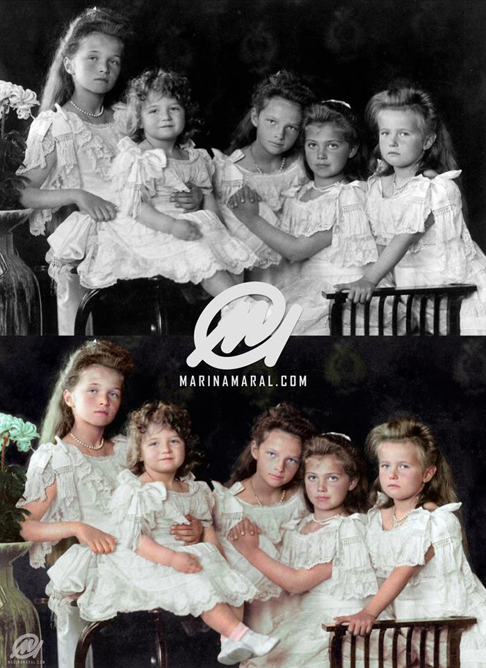 children of tsar nicholas II