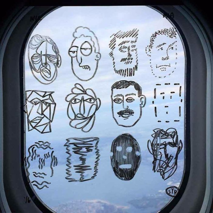 faces drawing plane window