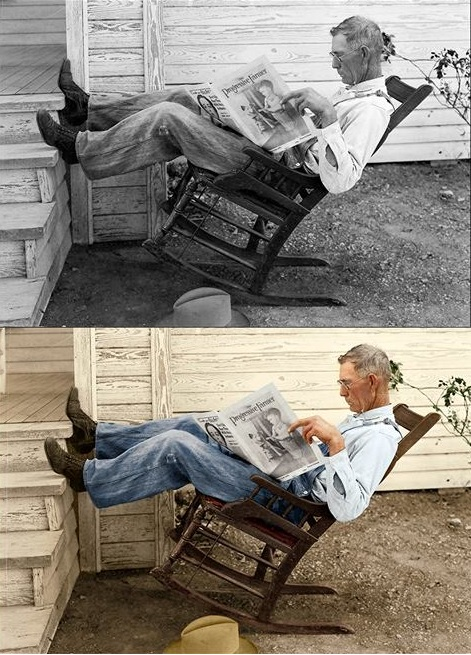 farmer rocking-chair