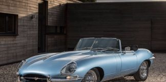 jaguar e-type zero parking
