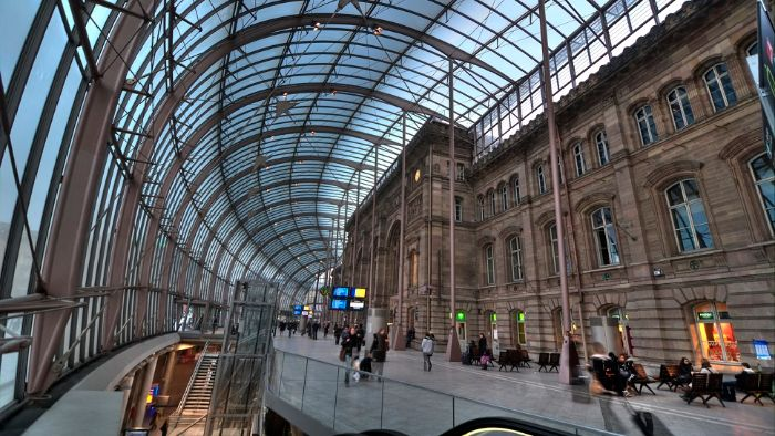 strasbourg train station france