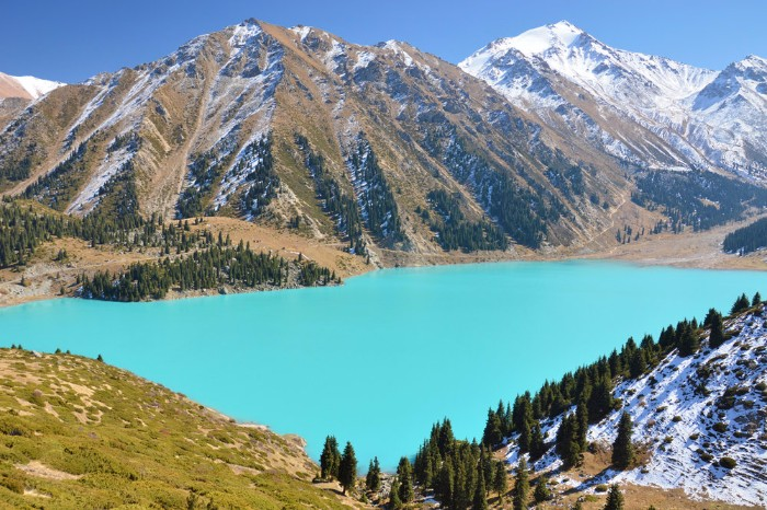 big almaty lake kazakhstan