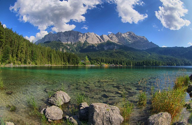 eibsee lake germany
