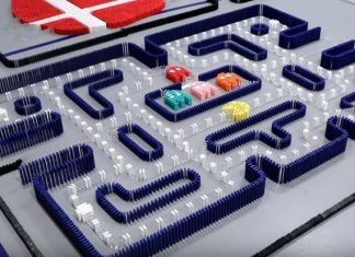 incredible science machine domino effect