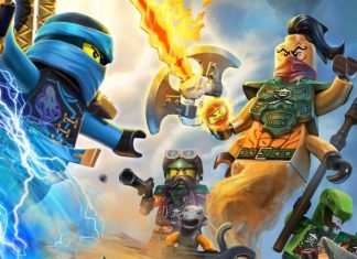 lego ninjago movie action