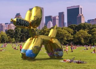 snapchat virtual 3d sculpture vandalised