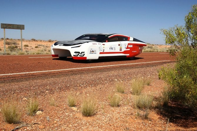 world solar challenge 2017 solar car